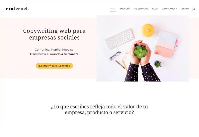 Diseñador web WordPress: Eva Teruel