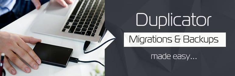 Plugins para hacer una migración en WordPress: Duplicator