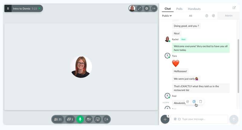 Plataformas y herramientas para emitir en streaming: Demio