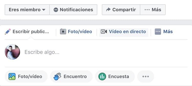 Plataformas y herramientas para emitir en streaming: Facebook