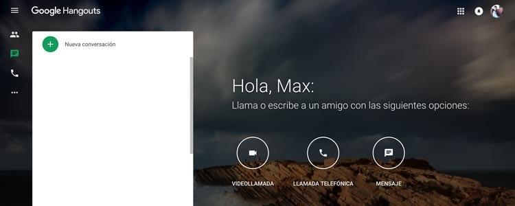 Plataformas y herramientas para emitir en streaming: Hangouts