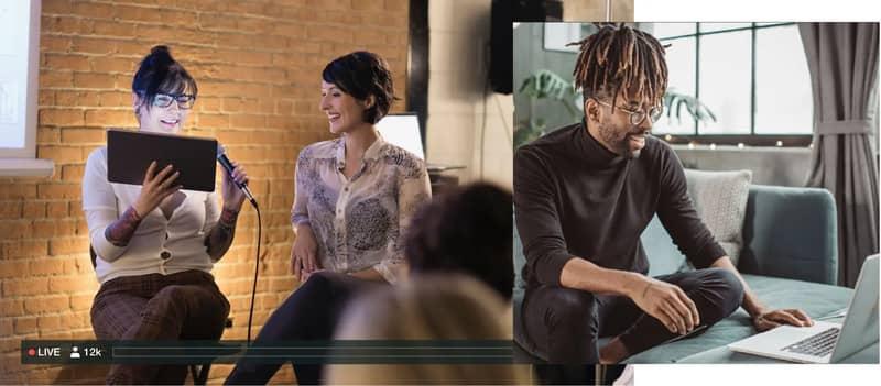 Plataformas y herramientas para emitir en streaming: Livestream