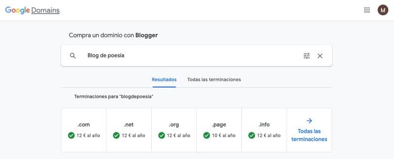 Cómo vincular tu dominio con Blogger o Blogspot