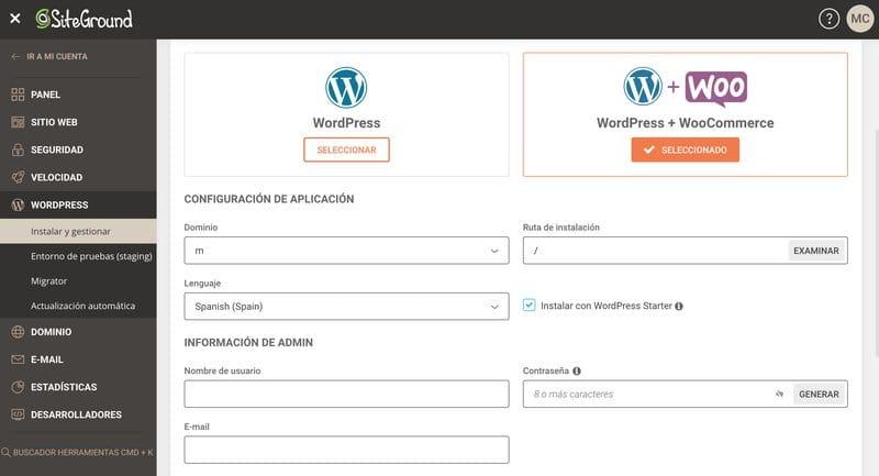 Cómo crear un blog en WordPress: instalar WordPress