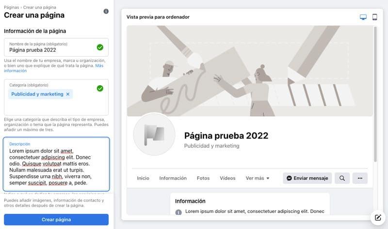 Cómo crear una página de Facebook para tu empresa