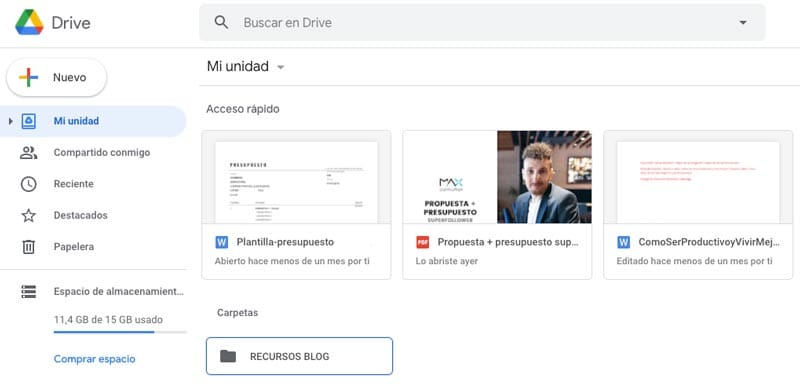 extensiones para Chrome: Application Launcher for Drive