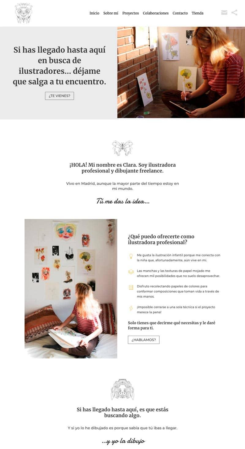 Cómo adaptar el branding de tu marca a tu página web: Clara Romeu