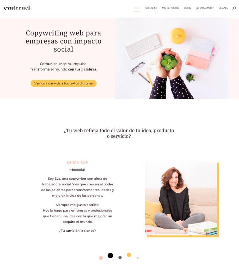 Cómo adaptar el branding de tu marca a tu página web: Eva Teruel