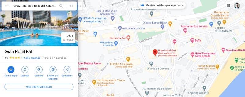 Cómo insertar un mapa de Google Maps en WordPress