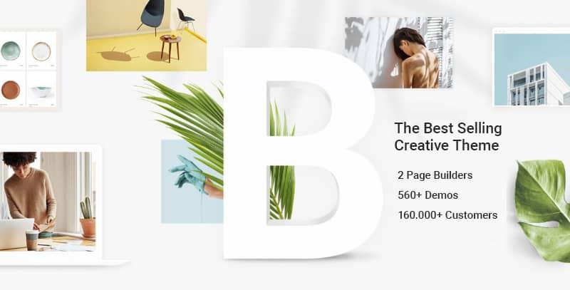 Las mejores plantillas WordPress premium: Bridge