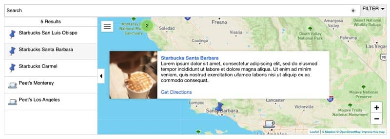 Plugins para añadir mapas en WordPress: MapPress (Maps for WordPress)