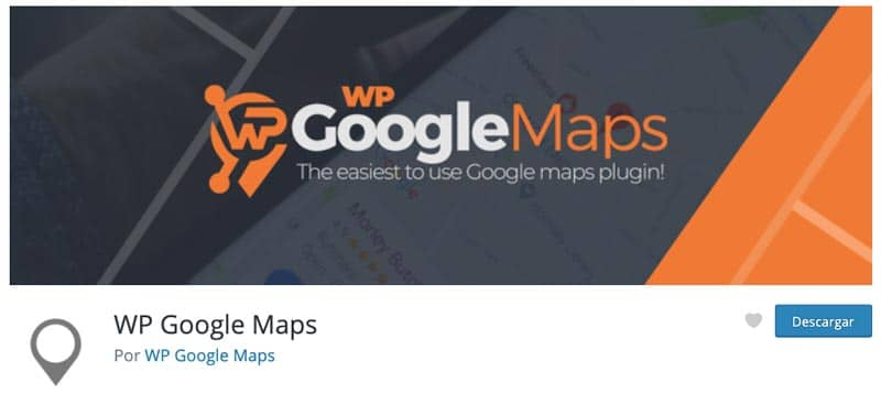 Plugins para añadir mapas en WordPress: WP Google Maps