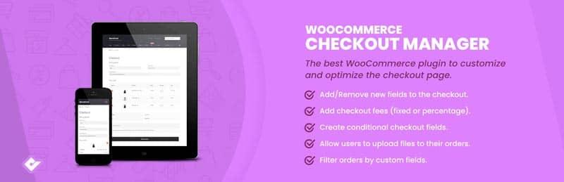 plugins de WordPress para tiendas online: Checkout Manager for WooCommerce
