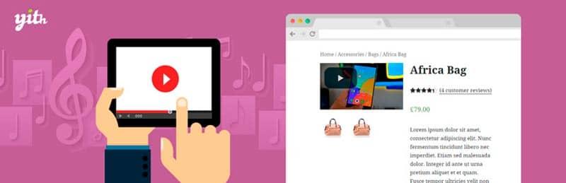 plugins de WordPress para tiendas online: YITH WooCommerce Featured Video
