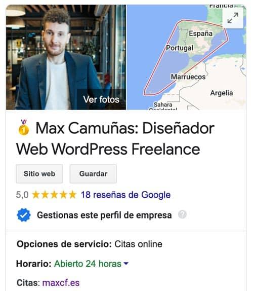 optimizar ficha Google My Business