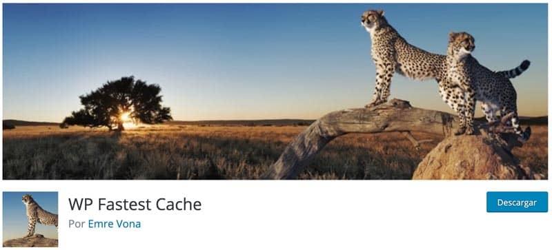 plugin caché WordPress: WP Fastest Cache